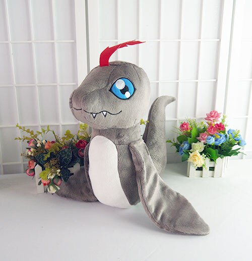 Digital Monster Pukamon Plush Toys Digimon Adventure Kido Joe Pet Casplay Cosplay Filling Doll Pillow 40cm