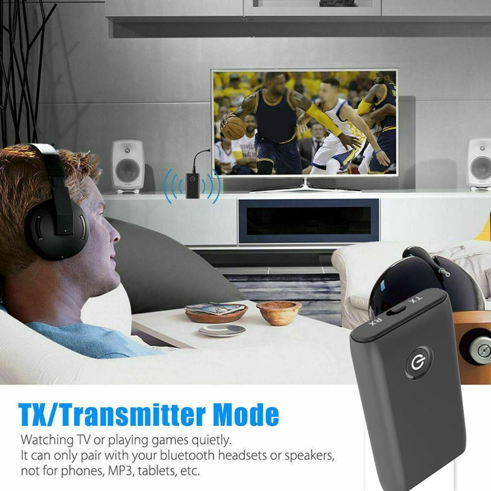 2 в 1 Автомобильный FM-передатчик Bluetooth 5,0, ТВ, ПК, автомобильный динамик, приемник, 3,5 мм Автомобильный Bluetooth Aux аудио, гарнитура, музыкальный ада...