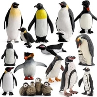 educational toy gift collection lover sea life ocean animal model toys penguin action figures children kids doll toy figures