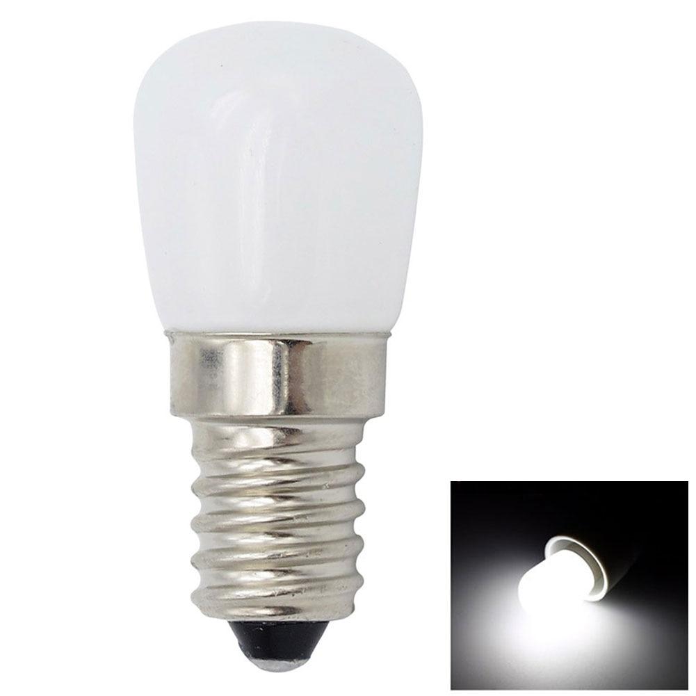 E12 E14 colgante de cristal casero corredor ahorro de energía refrigerador muebles brillantes bombilla LED parche accesorios de exhibición de oficina