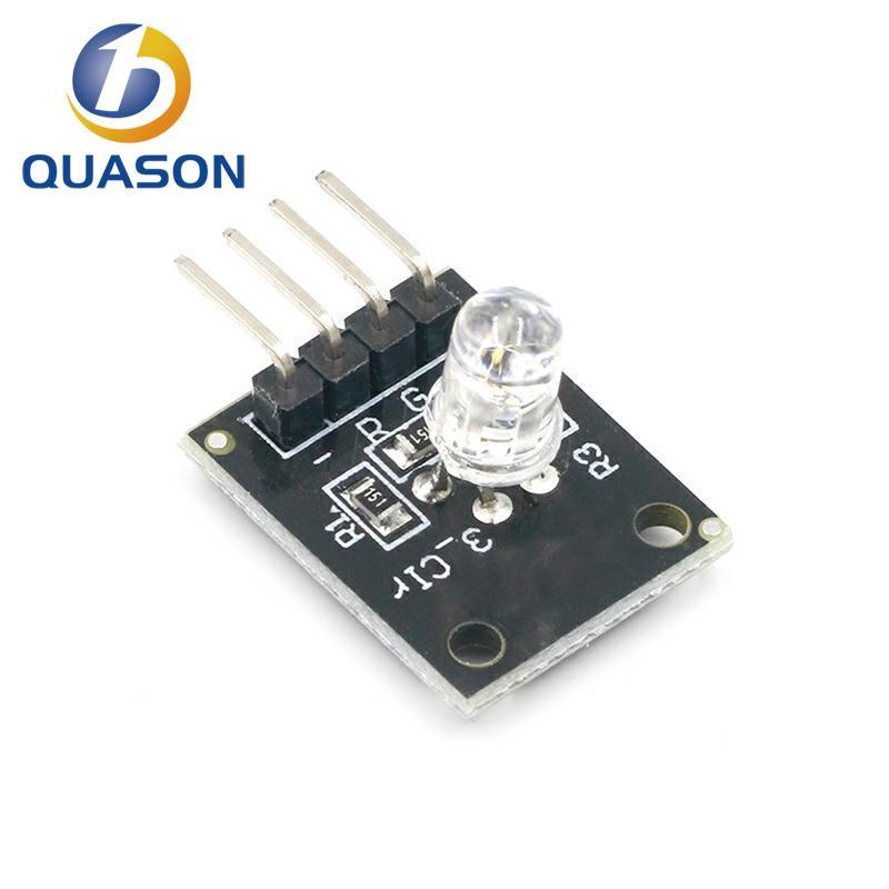 Smart Electronics FZ0455 4pin KEYES KY-016 Three Colors 3 Color RGB LED Sensor Module for Arduino DIY Starter Kit KY016