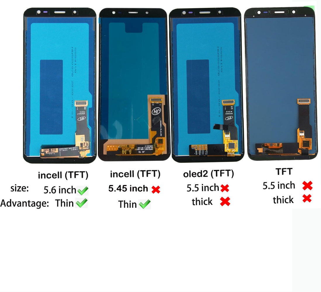 3PCS 5.6Inch incell LCD Screen For Samsung Galaxy J6 2018 J600 J600F J600Y J600G J600FN LCD Display Touch Screen Sensor Assembly enlarge