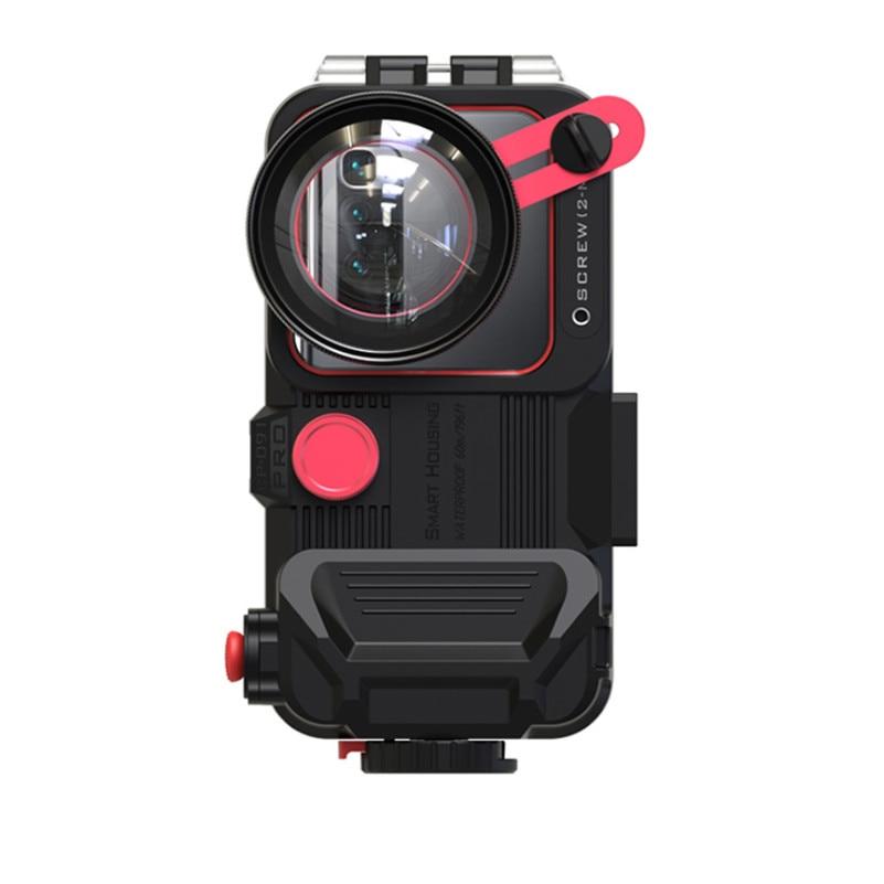 للماء الهاتف حالة ل فون 12 برو ماكس 12 البسيطة 11Pro ماكس بلوتوث الهاتف المحمول الإسكان للغوص السباحة أزياء جديد 1 قطعة