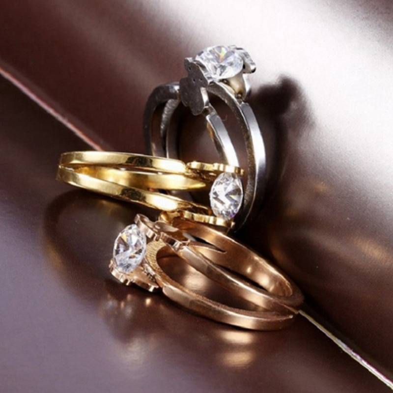 Anel de noivado popular para as mulheres bonito urso zircão cúbico festa de casamento grande moda prata urso senhoras anéis de jóias
