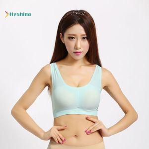 I-shaped Sports Bra, Breathable Mesh Traceless One-piece Underwear, Vest Type Women's Bra