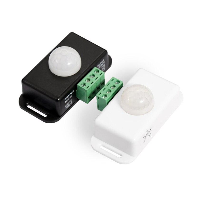 pir sensor led sensor de movimento interruptor detector temporizador movimento funcao