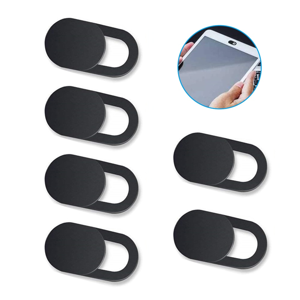 Webcam Cover Shutter Magnet Slider Lenes For iphone ipad Web Laptop Camera Cover Phone Privacy Stick