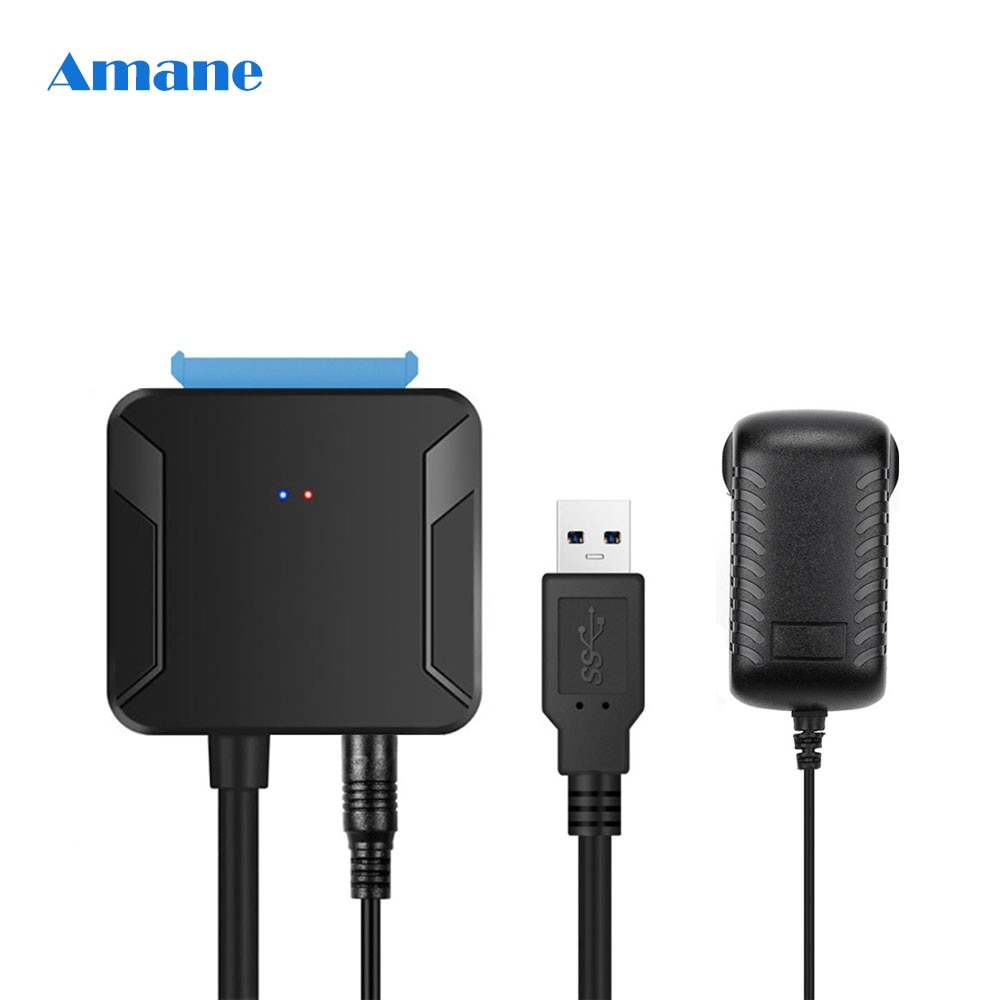 0.4m USB 3.0 SATA Cables Converter Male to 2.5/3.5 Inch HDD/SSD Drive Wire Adapter Wired Convert Cables