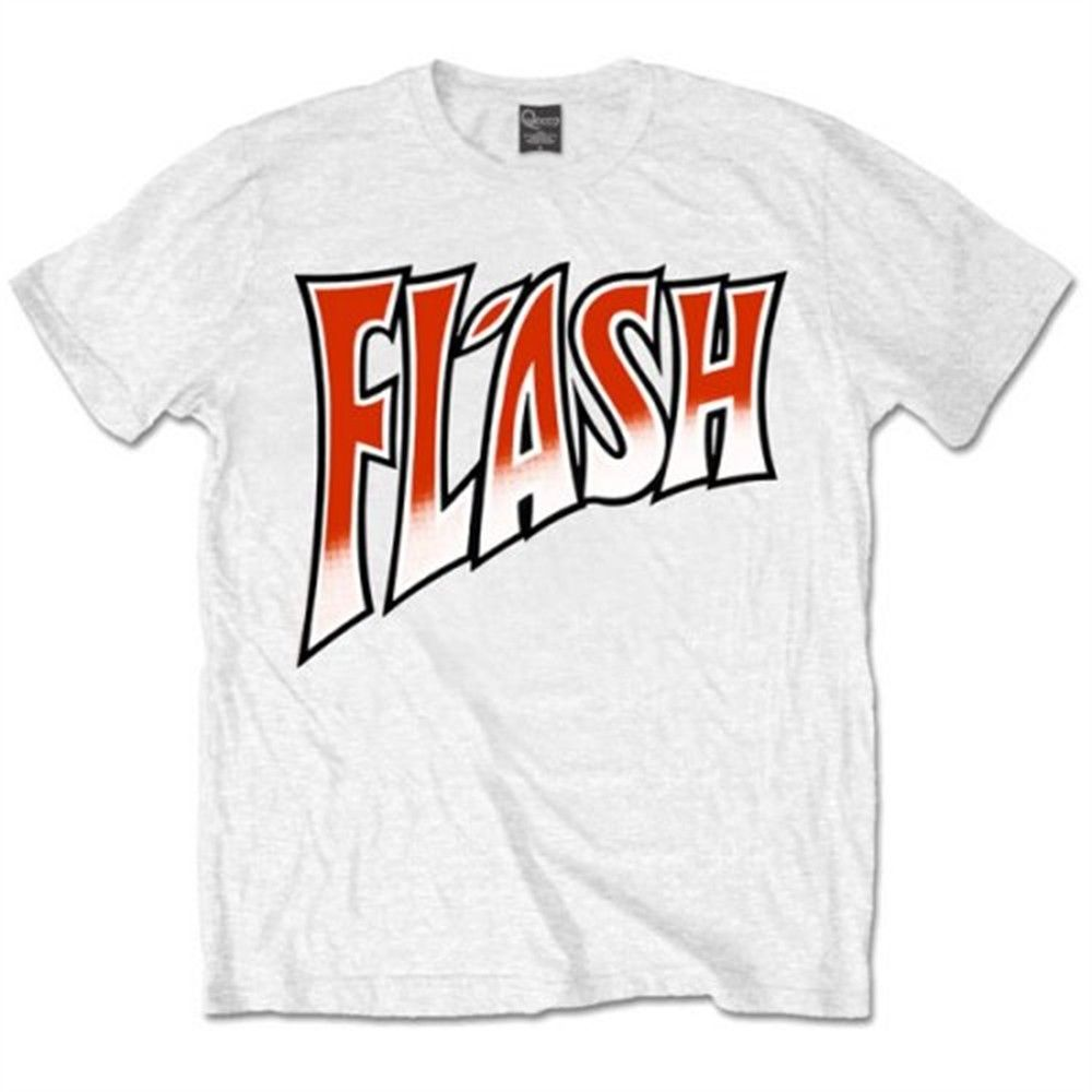 XXL Mens Queen Flash Gordon T Shirt - Emblem Official Logo Freddie Mercury Short Sleeve O-Neck Cotton T-shirts