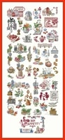 zz840 homefun cross stitch kit package greeting needlework counted cross stitching kits new style counted cross stich painting