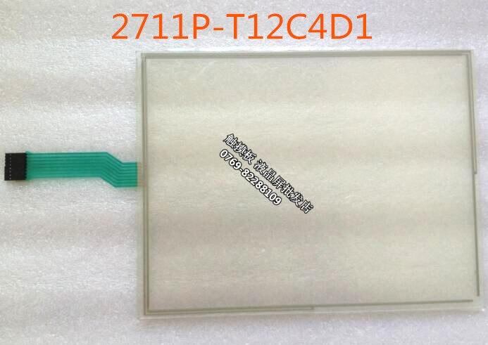 Sensível ao Toque Painel de Membrana Novo Panelview Plus 2711p-t12c4d2 Hmi Plc Tela 1250 2711p-t12c4d1