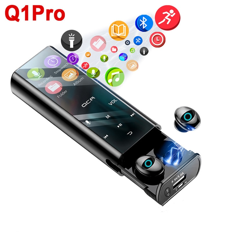 Q1 Pro TWS MP3 player wireless Bluetooth headset multi-funktion ohrhörer IPX7 wasserdichte 9D TWS headset 6000mAh power bank
