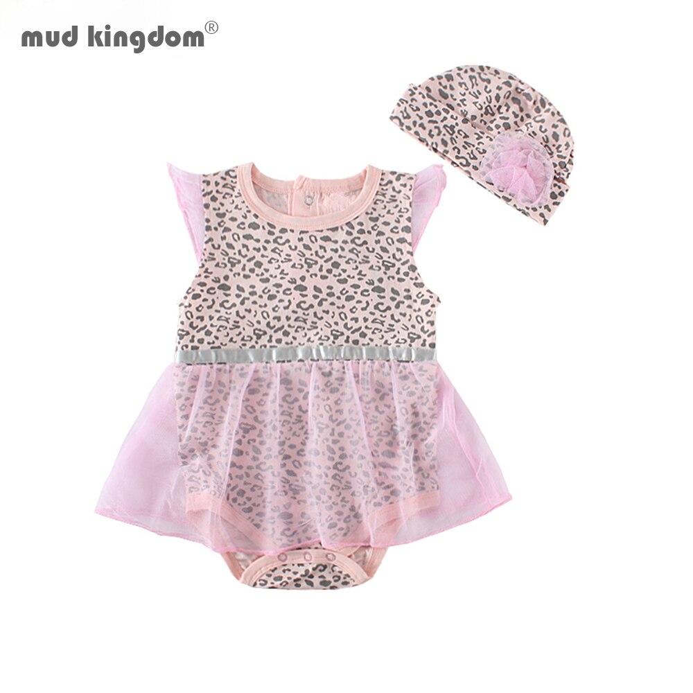 ¡Gran oferta! ¡Nuevo! Bonito pelele para bebé de Mudkingdom, ropa de encaje para niña, conjunto de trajes para recién nacidos