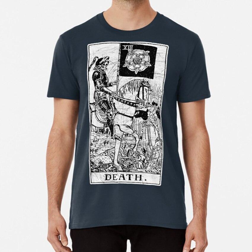 La muerte de la tarjeta de Tarot-Major Arcana-fortuna diciendo-oculto camiseta T camisa tonto el mago la Alta Sacerdotisa de la emperatriz
