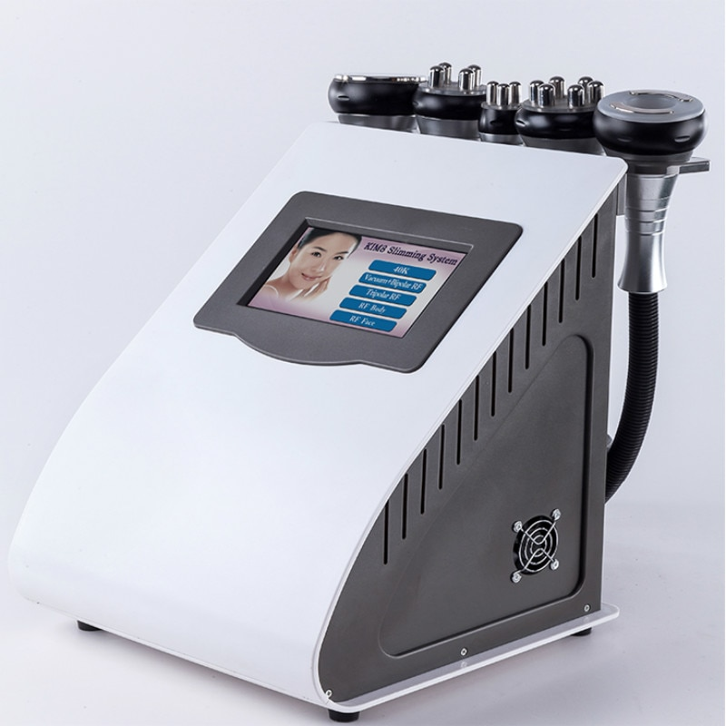 ماكينة شفط الدهون بالليزر 2021 40K جهاز تدليك الوجه جهاز كهربائي لشد البشرة يعمل بالترددات الراديوية جهاز ليبو