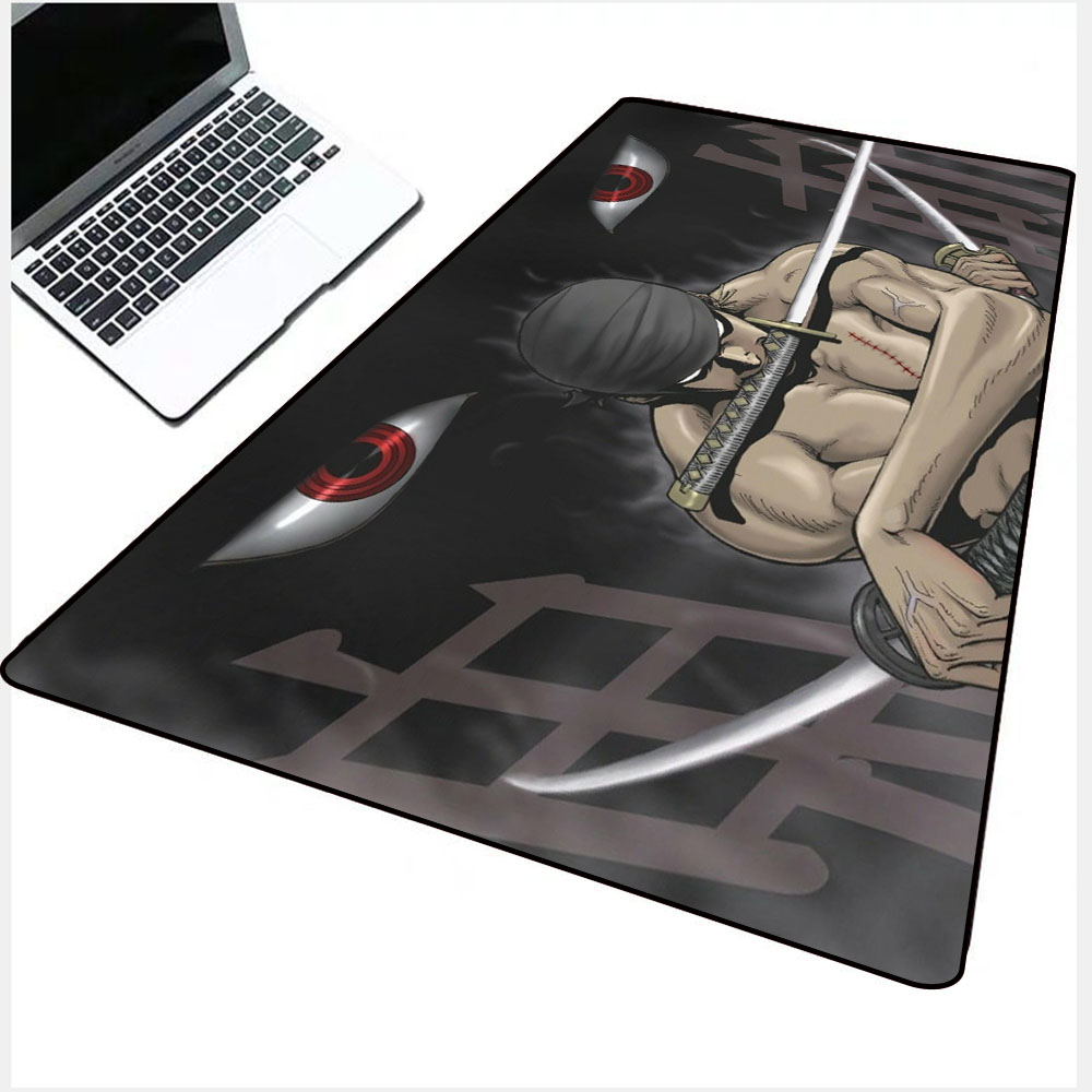 Mairuige One Piece Anime Mouse Pad Washable Player Computer Keyboard Lock Edge Mouse Pad PC Game Best Cool Anime Mouse Pad Desks enlarge
