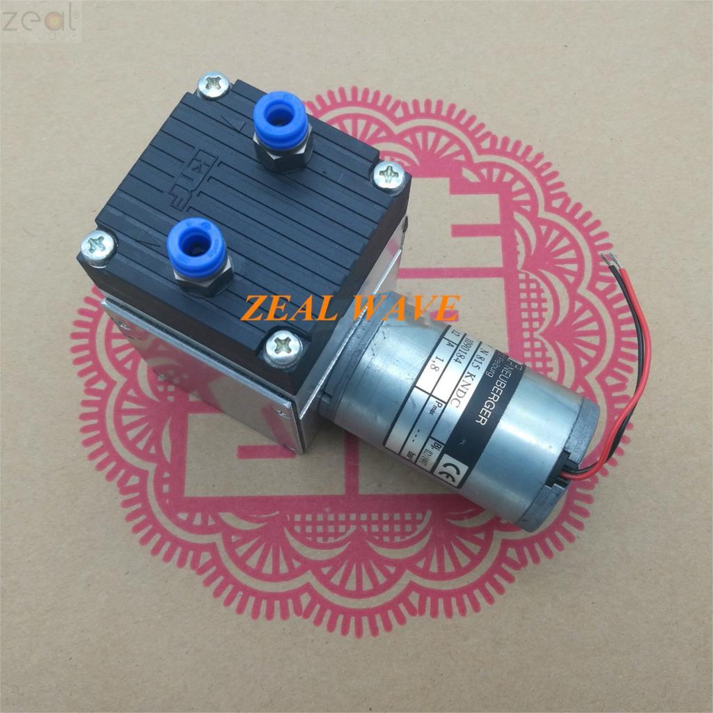 For Imported KNF DC Diaphragm Pump Air Pump Vacuum Pump N815 KNDC 12VDC 1.8A