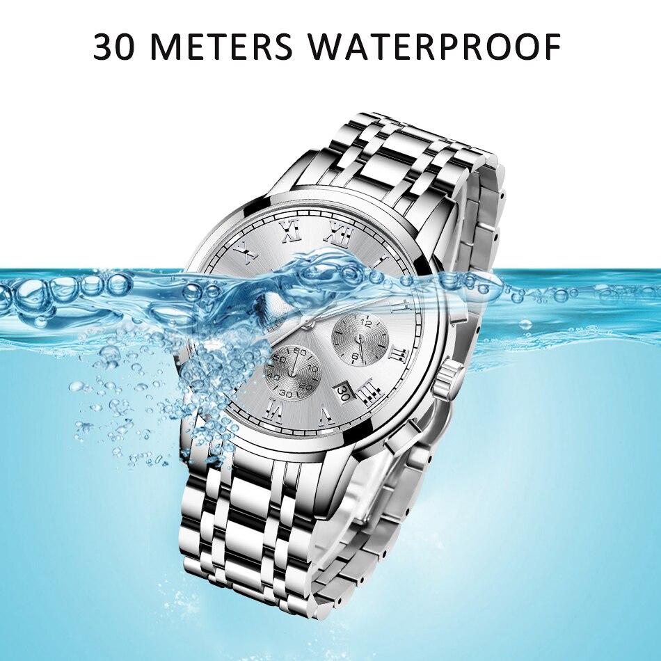 LIGE 2021 New Fashion Women Watches Ladies Top Brand Luxury Creative Steel Women Bracelet Watches Female Quartz Waterproof Watch enlarge