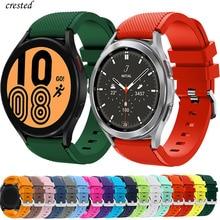 Cinturino 20mm 22mm per Samsung Galaxy Watch 4/Classic/46mm/42mm/active 2 Gear s3/S2 cinturino in silicone cinturino Huawei GT/2/GT2/3 Pro