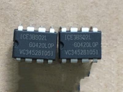 10 pièces/lot ICE3BS02 DIP-8 ICE 3BS02 DIP8 ICE3BS02L DIP en Stock