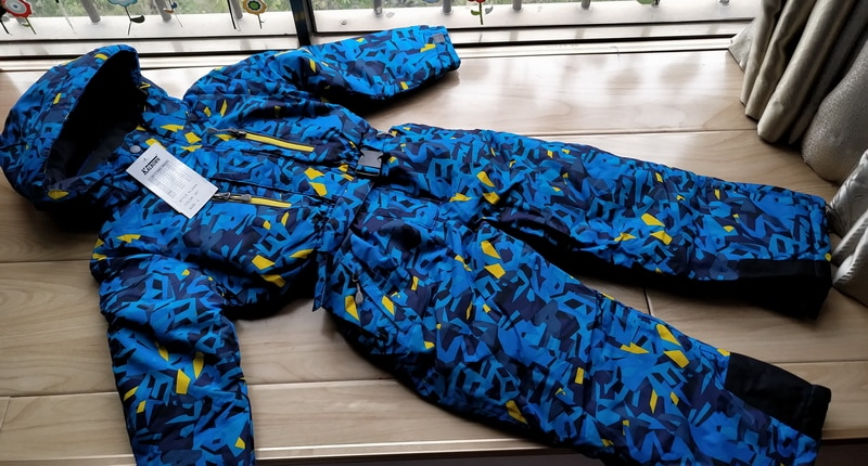 Winter Children Ski Overalls Warm Boys Clothing Set 3 4 5 6 7 years Waterproof Girls Outdoor Sports Snowboard Suits Kids Outfit enlarge