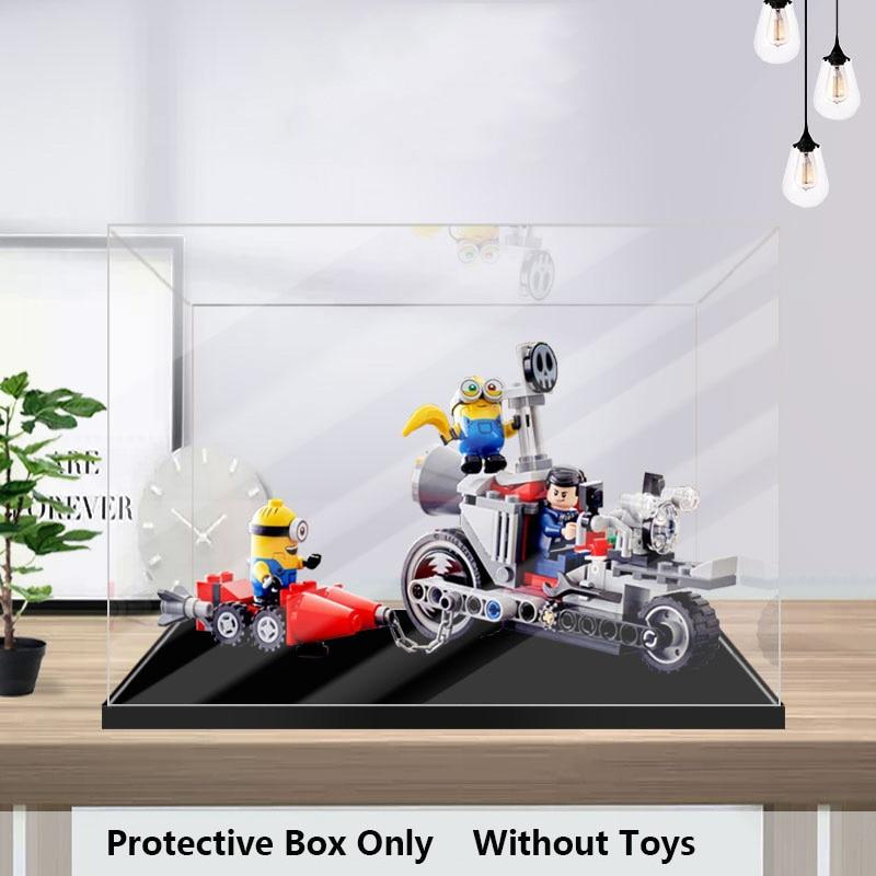 BrIckLight مناسبة للرسوم المتحركة 75549 لا يمكن وقفها دراجة نارية السعي صندوق عرض أكريليك عرض شفاف