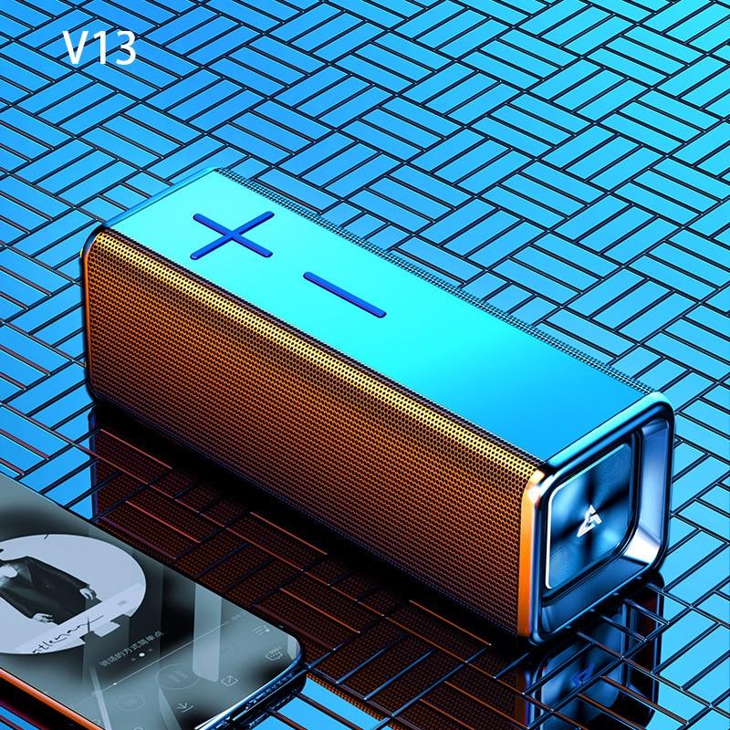 V13 سمّاعات بلوتوث مضخم صوت منزلي لاسلكي محمول TWS سلسلة HIFI صوت جودة بلوتوث 5.0 مكبر صوت 20 ساعة وقت اللعب