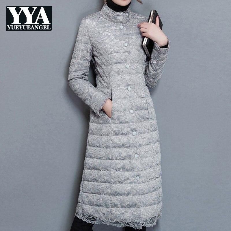 Elegante inverno algodão casaco feminino 2019 nova senhora do escritório magro quente casaco feminino streetwear manga longa moda outwear