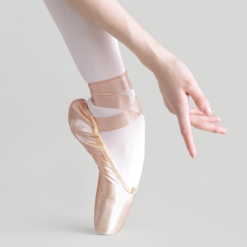Балетки для девочек, пуанты, розовые, красные женские атласные парусиновые балетные туфли для танцев балетные туфли entrepreneur samokhi балетки тканевые