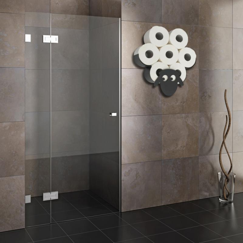 حامل ورق التواليت المعدني على شكل غنم ، حامل ورق التواليت المعلق على الحائط ، ملحقات تخزين المطبخ والحمام ، منظم الرف
