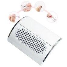 Puissant collecteur daspiration de poussière dongle avec 3 outils de manucure daspirateur de ventilateur avec 2 sacs de collecte de poussière équipement de Salon dongle