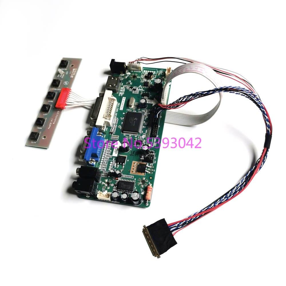 لـ LP125WH2 (TL)(B1)/(TL)(B2)/(TL)(D1)/(TL)(E1)/(TL)(FA) WLED-شاشة LCD ذات 40 سنًا LVDS VGA DVI 1366*768 ، مجموعة بطاقات التحكم
