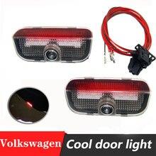 Lampe de projecteur Laser porte VW Golf5/6/7 Passat B5 B6 B7 GTI Touran Jetta MK5 MK6 CC 2 pièces