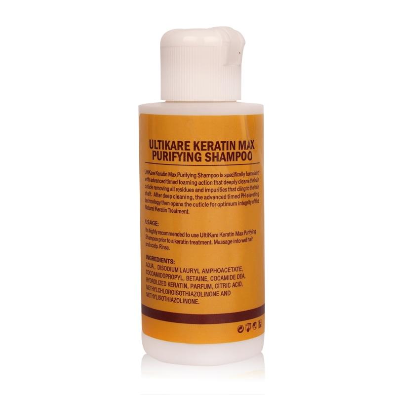 Купить с кэшбэком 12% formalin keratin 300ml Treatment 100ml purifying shampoo hair care make hair straightening smoothing shinning