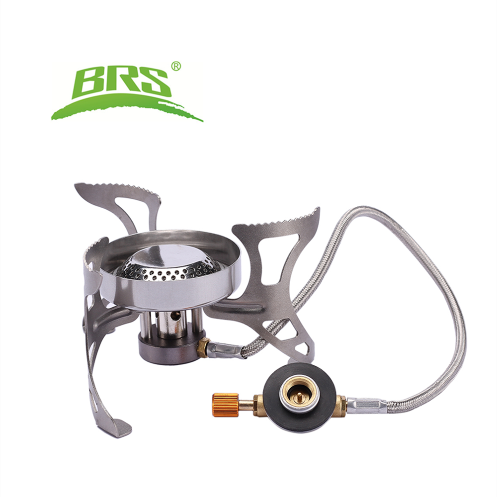 BRS Outdoor Camping Stove Gas Burners Camping Cooker Picnic Cookout Hiking Equipment Oven Heater Tripod