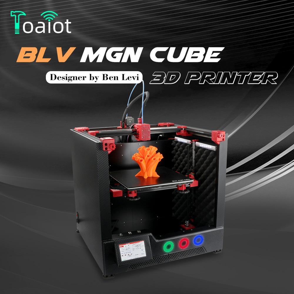 BLV MGN Cube طابعة ثلاثية الأبعاد مجموعة كاملة لا تشمل أجزاء مطبوعة 365 مللي متر Z محور ارتفاع blv ثلاثية الأبعاد مجموعة الطابعة