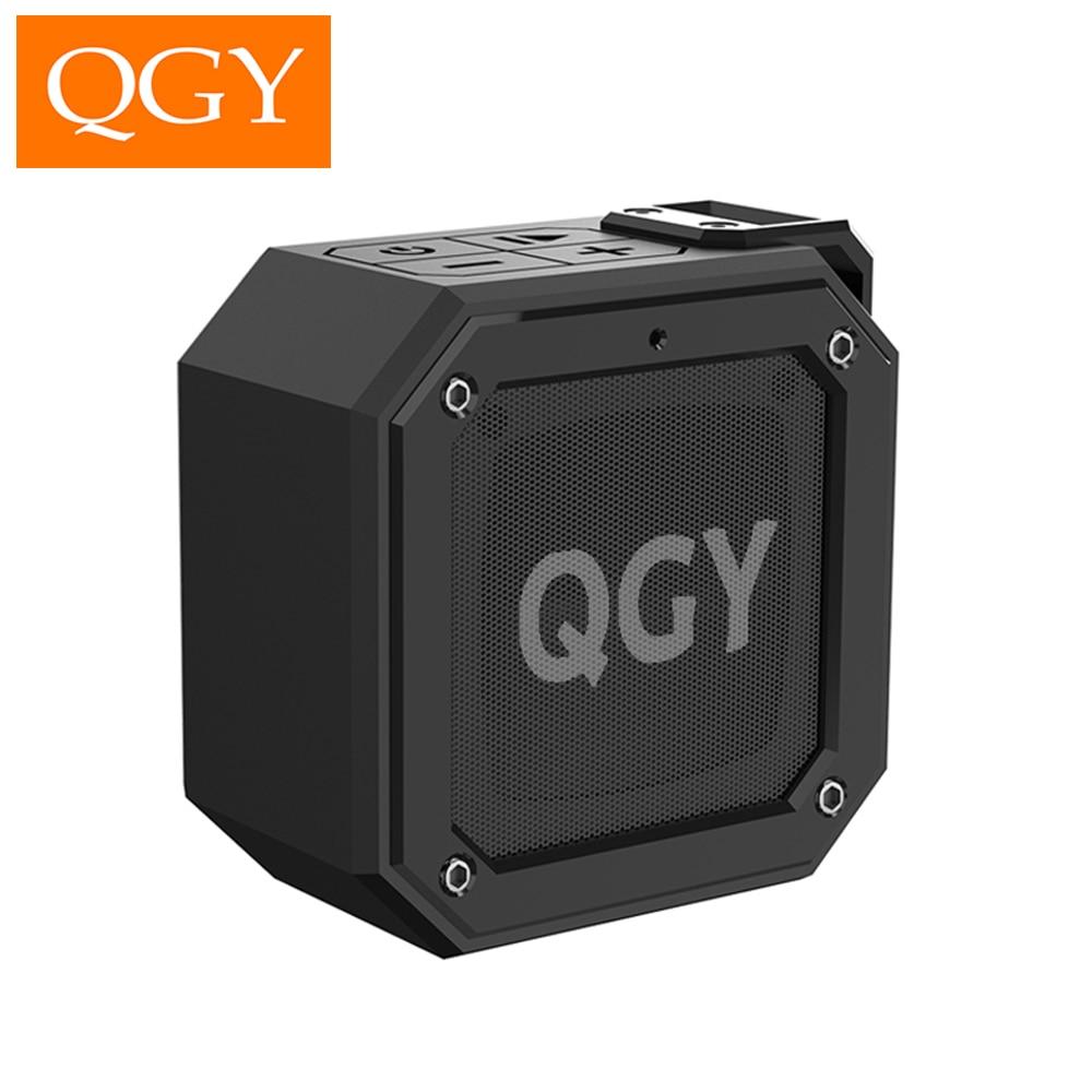 QGY الأخدود قوة بلوتوث صغير 5.0 المتكلم IPX7 عمود مقاوم للماء المحمولة المتكلم مساعد الصوت 24 ساعة وقت اللعب