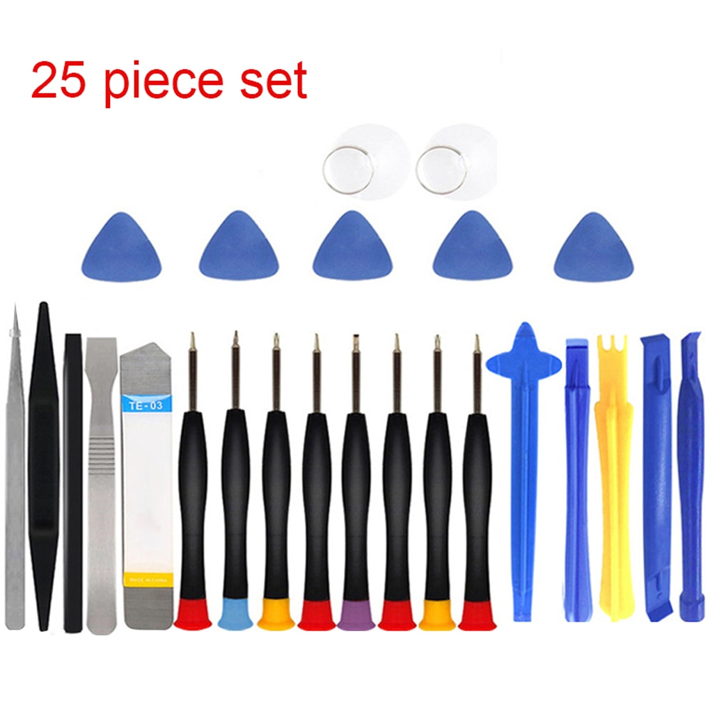 screwdriver bit set for cellphone mobile phone iphone 6 6s 7 7s 8 8s x pc laptop repair fix tool kit 33in1 bits jakemy jm 8160 25 in 1 Mobile Phone Repair Tools Kit Spudger Pry Opening Tool Screwdriver Set for iPhone X 8 7 6S 6 Plus 11 Pro XS Hand Tools