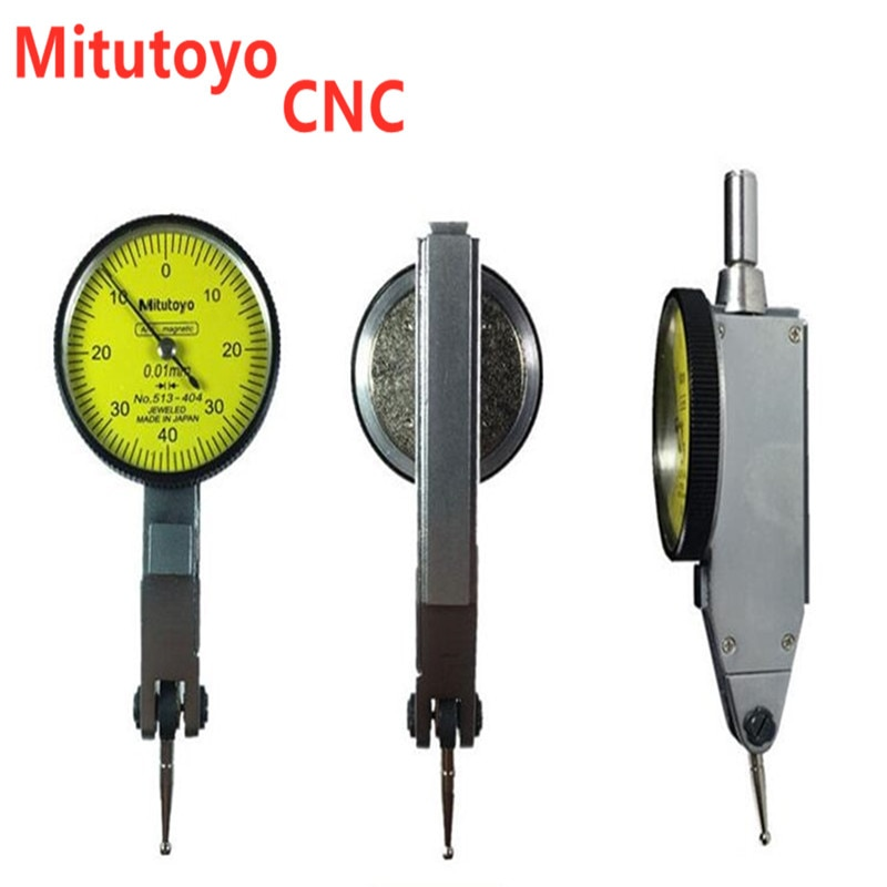 Mitutoyo نك رافعة الجدول مؤشر الاتصال 0-0.8 مللي متر 0.01 مللي متر مقياس متري تتوافق القضبان مؤشر أداة قياس 513-404