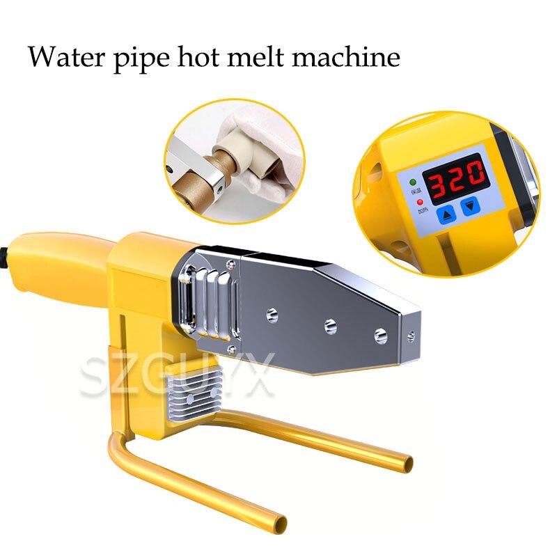 Máquina a tope para interfaz de hogar, máquina de fusión en caliente PPR, máquina de fusión en caliente, máquina de soldadura de ingeniería hidroeléctrica