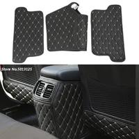 car rear seat anti kick pad rear seats cover back armrest protection mat for hyundai tucson 2015 2016 2017 2018 car accessories