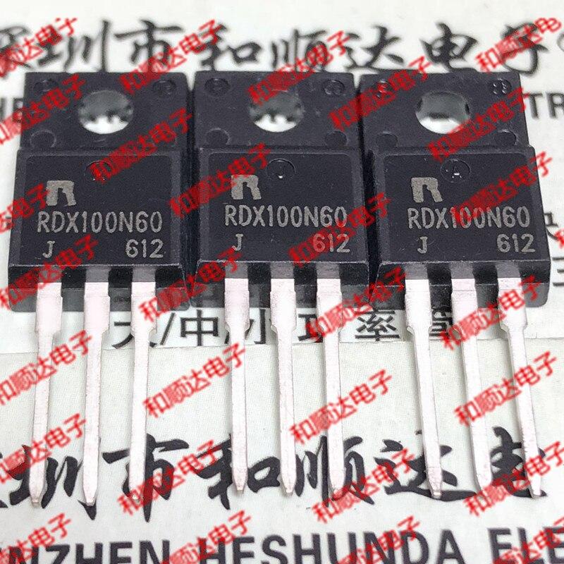 10 pçs/lote RDX100N60 TO-220F Correndo Crown Novo Local