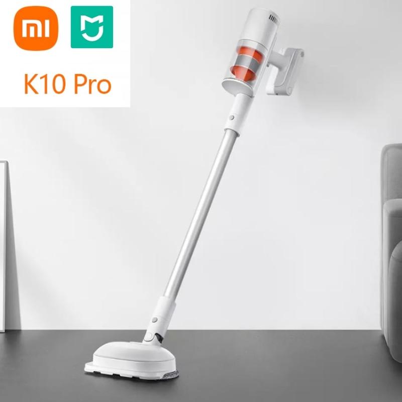 XIAOMI Mijia – aspirateur sans fil K10 Pro, avec deux brosses de vadrouille électriques rotatives, écran LED, 150AW