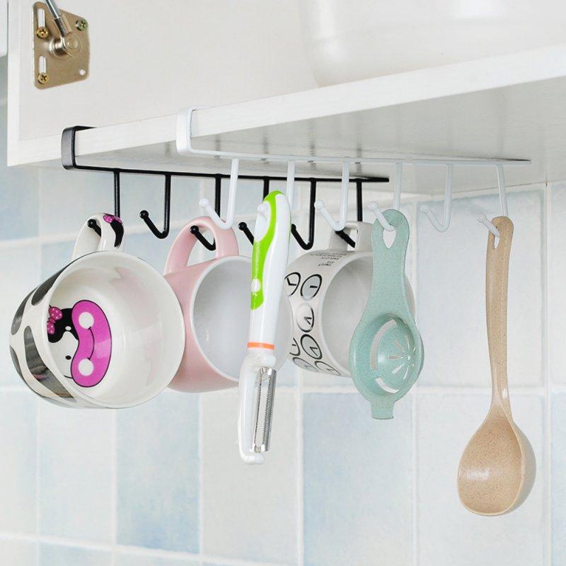 Cocina toalla para gabinete gancho colgante taza tazas de Rack de almacenamiento de acero inoxidable utensilio Rack baño tejido estante de 2020