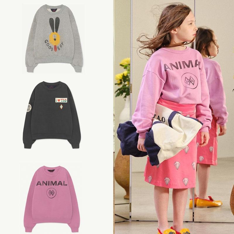 2020 TAO nuevo Otoño Invierno niños suéteres para niños niñas lindo estampado caliente suéter bebé niño algodón prendas de vestir Tops ropa