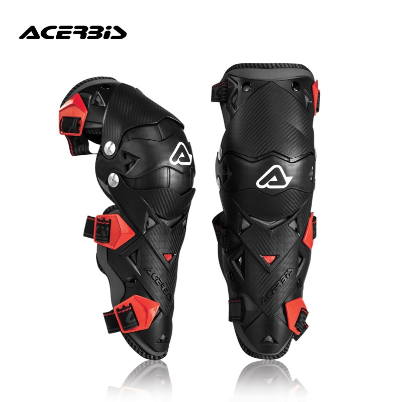 Acerbis Assibis motorcycle knee protectors, anti-fall and windproof motorcycle cross-country riding equipment in Italy.