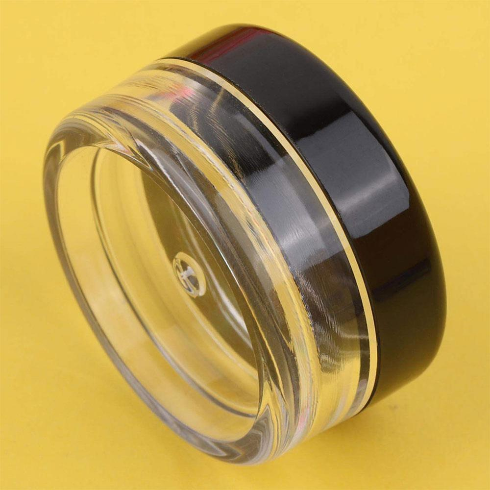 5pcs/lot 5g Empty Plastic Makeup Nail Art Bead Storage Container Travel Portable Cosmetic Cream Jar Pot Box Round Bottle