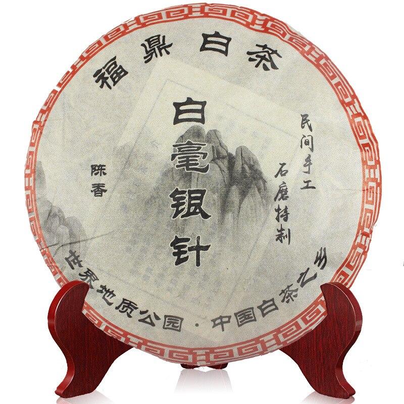 300g chino orgánico té blanco plata aguja Bai Hao Yin Zhen Fuding pastel blanco