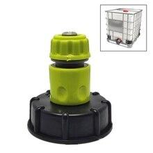Adaptateur de réservoir IBC fil brut   Outil de Joint, outil de vidange, raccords de baril pour baril chimique