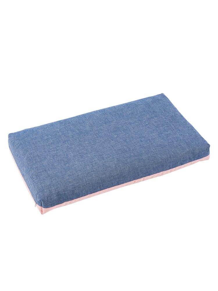 وسادة حشو مصنوعة من القطن ، مستطيلة صلبة ، مهجع الطلاب ، مضادة للكهرباء الساكنة ، حديقة المنزل ، EF50PW
